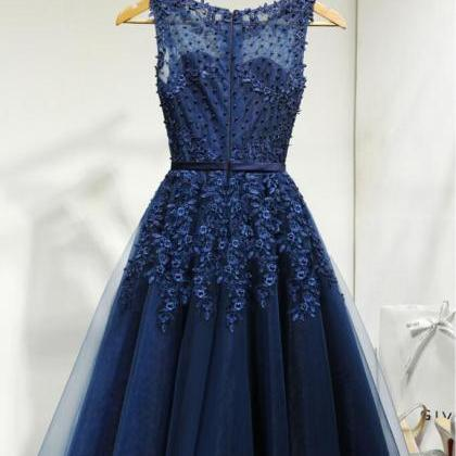 Royal Blue Homecoming Dresses,Cockt..