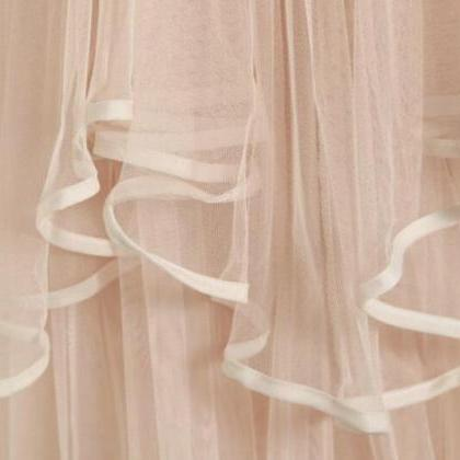 Lovely Layered Tulle High Low Skirt..