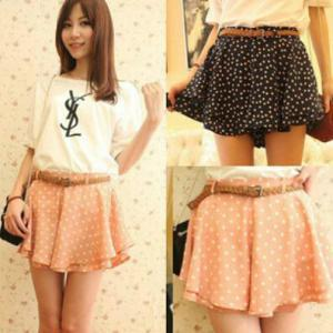 Lovely Summer Chiffon Mini Dot pant..