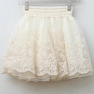 High Quality Cute Apricot Embroider..