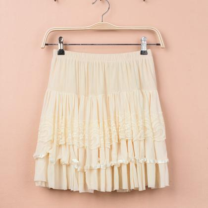 Pretty Cute Pink Skirt, Women Skirt..