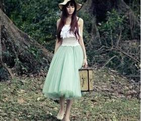 Lovely Skirt, Tulle ..