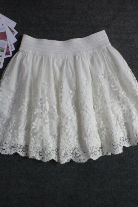 Pretty and Charming Lace Women Skirts, Women Skirts, Lace Skirts, Skirts
